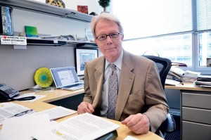 Huntington Potter studies Alzheimer's disease, especially its ties to Down syndrome, at the University of  Colorado School of Medicine. He stresses the importance of diagnosing Alzheimer's early, and believes its  onset can be delayed through mental, social and, above all, physical activity.