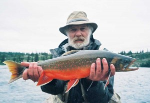 John Gierach, Lyons resident and author of best-selling fishing books including Trout Bum, helped popularize fly-fishing.