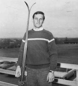 Marolt in 1966. An Aspen native, he started skiing as soon as he could walk. (photo courtesy of University of Colorado)