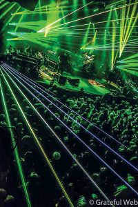 Catch the Disco Biscuits and their light show at Red Rocks on June 4. (photo by Philip Emma)