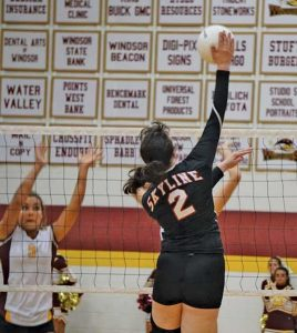 Skyline High School volleyball player Laura Staiano. (photo by Renee Staiano)