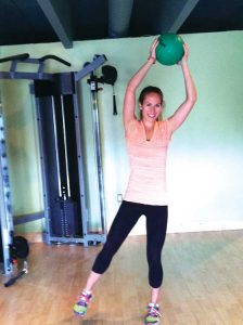 Lindsay Lawes, a registered dietician and personal trainer, says that for healthy weight management, exercise simply can't be left out. (photo courtesy Boulder Nutrition and Exercise)
