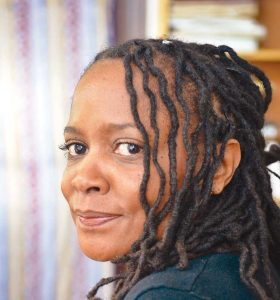 Marcia Douglas spent a year in Jamaica, the island country of her youth, researching her latest novel, The Marvellous Equations of the Dread: A Novel in Bass Riddim. (photo by Patrick Campbell)