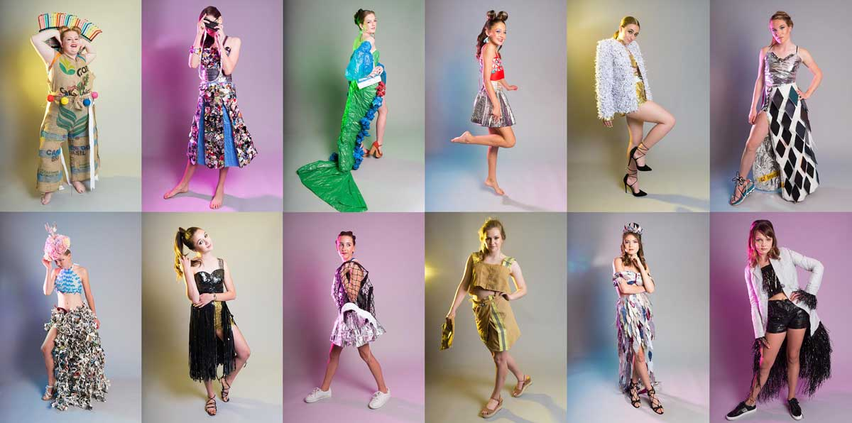 Empowered Young Fashion Designers Make Rubbish Ravishing Getboulder Com